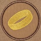 Awesome Boy Scout Patch - Gold Ring Patrol! (#156)