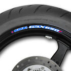 Suzuki GSX 650 F Wheel rim stickers decals gsx650