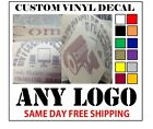 CUSTOM VINYL DECALS STICKER ANY LOGO OR IMAGE FAST FREE SHIPPING