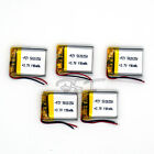 5 pcs Li-polymer rechargeable Battery 3.7V 190 mAh 052025 for bluetooth mp3  mp4