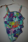 Circo Girls Infant OnePiece Swimsuit Various SIZES NWT UPF 50+Blue Flower