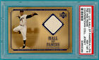 2001 U.D. Hall of Famers, Pee Wee Reese Game Used Jersey #J-PW PSA 8! Dodgers!