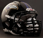 ***CUSTOM*** BALTIMORE RAVENS NFL Riddell Speed AUTHENTIC Football Helmet
