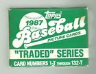 Topps 1987 Baseball Picture Cards: