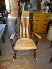 HICKORY   AND  OAK  ROCKING  CHAIR
