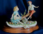 "Capodimonte Porcelain Figurine by Cortese ""Teeter Totter"""