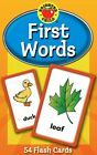 First Words Flash Cards Brighter Child Flash Cards Cards NEW