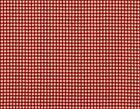 Tailored French Country Gingham Check Crimson Red Crib Bedskirt Cotton