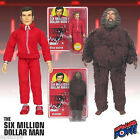 Six Million Dollar Man Steve Austin  Bigfoot Figures Bionic Brand New IN STOCK