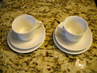 6 pcs Enoch Wedgewood England Hedge Rose 2-Cup, 2-Saucer, 2-Bread Plate ViNTAGE