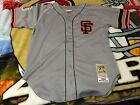 Matt Williams Jersey Authentic Mitchell Ness 48 San Francisco Giants Gray Road