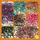 New Style Swirly Camouflage Red White Green Tie Dye Colors Rainbow Rubber Band