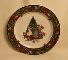 International Bob Timberlake Christmas Celebration Salad Plate