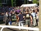 CALIFORNIA CHROME 8 by 10 PHOTO 2014 BELMONT STAKES PADDOCK HORSE RACING 4