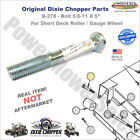 Dixie Chopper B 278 5 8X5 Bolt for Short Deck Roller