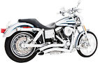 Freedom Performance Chrome Sharp Curve Radius Exhaust System HD00258 47 3104