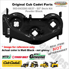 903 04328 MTD 50 Deck Shell Replacement Cub Cadet RZT Troy Bilt BLACK