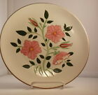 Stangl Dinner Plate wild rose flower hand painted dinnerware replacement