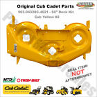 903 04328 Yellow 2 Cub Cadet RZT 50 Deck Shell Replacement Original Cub Cadet