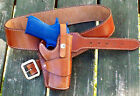 Reddog Leather Cowboy Western Holster  Belt The WILD BUNCH Rig