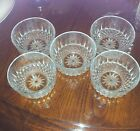 France Glassware Dessert/ Finger Bowl 4