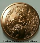 5 oz Hercules Copper Round, Giant 63mm Coin, .999 Copper Bullion