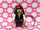 Pirates Jack Sparrow 4GB USB Flash Drive Keychain...Handmade using LEGO® parts
