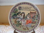 RARE BEAUTIFUL ROYAL WORCESTER ENGLAND FINE PORCELAIN CHILD PLATE, 7 1/2