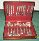Pre-1928 ANTIQUE *ALVIN* 82 PC STERLING SILVERWARE SET *RARE*