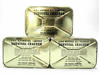 Sealed 7lb Tin 1962 Vietnam Era/Cold War Vintage Civil Defense Survival Crackers