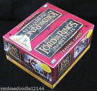 Topps LOTR Lord of the Rings Masterpieces Series 1 Factory Sealed Box, 24 packs