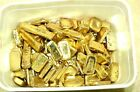 62 GRAMS Gold Recovery Gold Bar Melted Drop Scrap Plated Computer Pins Gold CPU