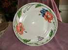 VILLERORY & BOCH, Amapola pattern,`DINNER DISHES, 5 avail.