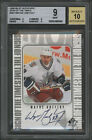 1998-99 SIGN OF THE TIMES SP AUTO WAYNE GRETZKY BGS BECKETT PRISTINE 10