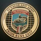 CHALLENGE COIN: USS MISSISSIPPI, SSN 782