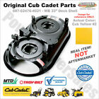 687 02476 4021 Cub Cadet WB 33 Deck Replacement Original Cub Cadet