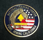 United States Army Fort Irwin National Training Center Challenge Coin California