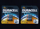 DURACELL Type CR2 Ultra Photo Batteries, 4-count (NEW)