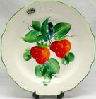 Beautiful Vintage Hand Painted STRAWBERRY PLATE Zander Co. MILWAUKEE WI RARE!