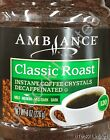 8oz Ambiance Instant Coffee Crystals Decaffeinated Classic Roast Medium