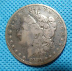 1879 O Morgan Silver Dollar. 90% Silver, evenly dark.