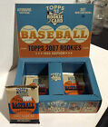 4 Packs from a 2007 Topps Rookies - 1952 Edition Baseball Hobby Box