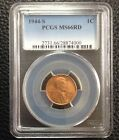 1944-S PCGS MS66RD Lincoln Wheat Cent 1C