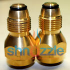 2 Propane Refill adapters Bottles heater stove lantern tank Disposable cylinders