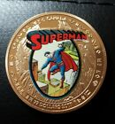 SUPERMAN GOLD COIN Finished in 999. GOLD 1 oz Collectors Token Rare FAST POSTAGE