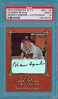 2002 Donruss Elite Warren Spahn Auto Issue - #ES-19 PSA 9! Braves! HOF! POP1!