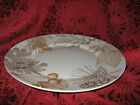 222 FIFTH GOLDEN FOLIAGE DINNER PLATES - SET OF 4 - NEW