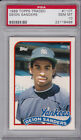 1989 Topps Traded #110T Deion Sanders New York Yankees PSA GEM MINT 10
