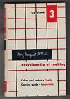 VINTAGE, MARY MARGARET McBRIDE, ENCYCLOPEDIA OF COOKING, VOLUME 3, 1958