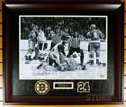 Terry O'Reilly Boston Bruins Signed Autographed Pounding on Ice 16x20 Framed